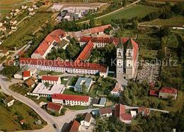 73050819 Niederalteich Donau Fliegeraufnahme Benediktinerabtei Niederalteich - Allemagne