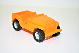 Vintage VINYL TOY CAR : Maker PLASTO MADE IN FINLAND ARMY JEEP - Art Nr 1911 - 11.5cm - Norway - 19XX - Rubber - Other