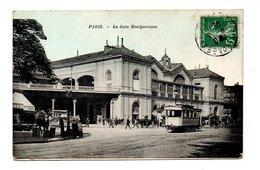 75 - PARIS . LA GARE MONTPARNASSE - Réf. N°9654 - - Stations, Underground