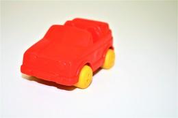 Vintage VINYL TOY CAR : Maker VIKINGPLAST SWEDEN - No. 20 VW Golf Cabriolet - 8.00cm - 19XX - Rubber - Other