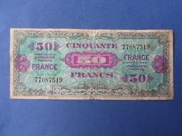 BILLET 50 FRANCS / LIBERATION / TYPE VERSO FRANCE / SANS NUMERO DE SERIE - 1871-1952 Antichi Franchi Circolanti Nel XX Secolo