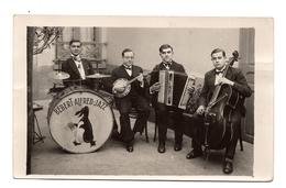 Carte Photo Orchestre Jazz - Postcards