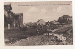 Brétignolles  Sur Mer  Ruisseau De La Parée Un Groupe De Pécheurs à La Ligne - Bretignolles Sur Mer