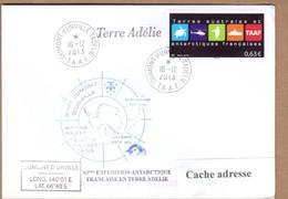 TAAF PLI TERRE ADELIE. TP 681 Obl. 16 12 2013 Voir Scan. - Terres Australes Et Antarctiques Françaises (TAAF)