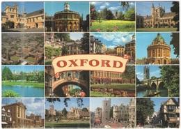 GB - Regno Unito - GREAT BRITAIN - 1999 - 30p - Oxford - Multivues - Viaggiata Da ???? Per Sannois, France - Oxford