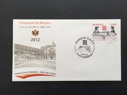 MONACO - 2012 - FDC N°1336 - N°Y&T 2819 - FDC