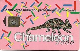 @+ Tchécoslovaquie - 100U - Chameleon 2000 - SC5 - Ref : C7A - Tchécoslovaquie