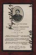 Faire-part De Décès - (1914) Memento Monsieur Armand Tréanton - Landivisiau - - Obituary Notices
