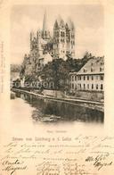 43015812 Limburg Lahn Dom Nordseite Ahlbach - Limburg
