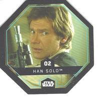 JETON LECLERC STAR WARS   N° 02 HAN SOLO - Power Of The Force