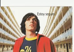 INFO SIDA - ¿ESTAS SEGURO? - POSTAL PUBLICITARIA - Salud