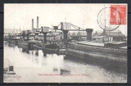 54-Neuves-Maisons, Le Canal Et Les Acieries - Neuves Maisons