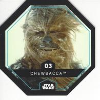 JETON LECLERC STAR WARS   N° 03 CHEWBACCA - Power Of The Force
