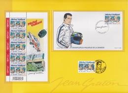 B01-081-1 3350  BD Angoulème Pochette Souvenir Vide Avec Timbre (x)   Rare Michel Vaillant Jean Graton 15-1-2005 - Cartes Souvenir