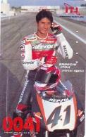 Télécarte Japon * MOTOR  * (1823)  Phonecard Japan * TELEFONKARTE * MOTORBIKE * MOTOR RACE * HONDA - Motorräder
