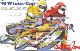Télécarte Japon * MOTOR  * (1827)  Phonecard Japan * TELEFONKARTE * MOTORBIKE * MOTOR RACE * - Motos