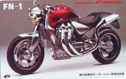 Télécarte Japon * MOTOR  * (1830)  Phonecard Japan * TELEFONKARTE * MOTORBIKE * MOTOR RACE * HONDA - Motos