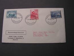 DK FDC 1947  Eisenbahn Train - Briefe U. Dokumente