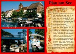 73208391 Plau_See Hafen Schleuse Chronik Plau_See - Plau