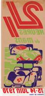 Rare Autocollant 24 Heures Du Mans 1970 - Car Racing - F1