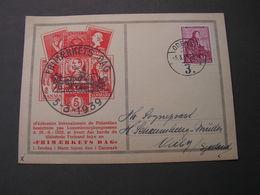 DK Ausstellung Odense1939  Tag Der Briefmarke - Briefe U. Dokumente