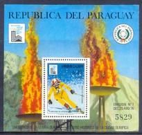 E66- Paraguay 1980 Olympic Games. Bl Cv 60 Euro. - Paraguay