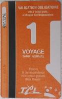 2014 - Limoges - Bus Ticket - Bus