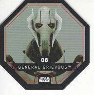 JETON LECLERC STAR WARS   N° 08 GENERAL GRIEVOUS - Power Of The Force