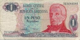 N. 1  Banconota -  1   Peso - Repubblica Argentina. - Argentina