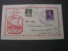 DK Red Cross Cv. 1940 - Briefe U. Dokumente