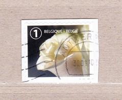 2017 Nr ? Gestempeld Op Fragment,rouwzegel Rechts Ongetand. - Belgien