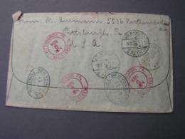 USA Fine Cv. 1924 NY Tranist Köln Deutz BRA 10 - Vereinigte Staaten