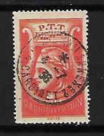 "Radiodiffusion YT 2 "" Sans Valeur Rouge "" 1935-37 Oblitéré - Radiodiffusion"