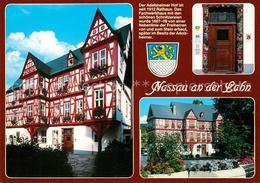 73210381 Nassau_Lahn Rathaus Fachwerkhaus Nassau_Lahn - Nassau