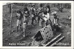 CPA Darien Indians Panama CA Groupe Femmes Seins Nus - Panama