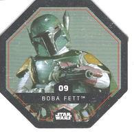 JETON LECLERC STAR WARS   N° 09 BOBA FETT - Power Of The Force