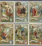 Figurine Liebig - Italia - Sang. 849 - Eroi Delle Opere Di Wagner - 1906 - Liebig