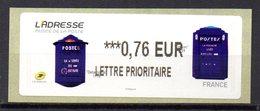 Vignette LISA  // Delachanal 1918  // Paris 2015 - 2010-... Illustrated Franking Labels