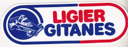 Rare Autocollant LIGIER Gitanes Vintage - Car Racing - F1