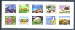 E80- Guernsey 2007 The 125th Anniversary Of La Societe Guernesiaise Self Adhesive GY. - Insects