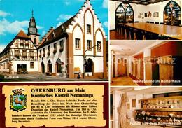 73212795 Obernburg_Main Rathaus Rathaussaal Weihesteine Im Roemerhaus Funde Aus - Ohne Zuordnung