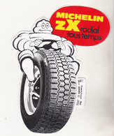 Rare Autocollant Michelin ZX - Voitures