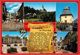 73213797 Simmern_Hunsrueck Schlossstrasse Fussgaengerzone Stephanskirche Schinde - Deutschland