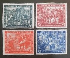 1949 , Leipziger Messe , Deutsche Post , Postfrisch ,GERMANY - Timbres