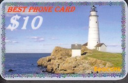 LIGHTHOUSE BEACON SET OF 5 PHONE CARDS - Lighthouses