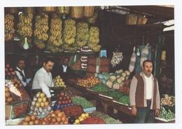 LIBAN,LEBANON, BEIRUT,BEYROUTH-MAGASIN DE FRUITS -TBE -RECTO/VERSO- B6 - Líbano
