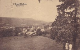 Grand-Halleux Panorama Circulée En 1934 - Vielsalm