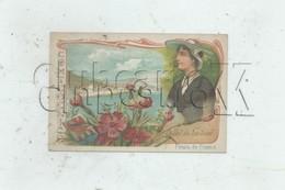 Nice (06) : 2 Vues Œillet Du Comté De Nice En 1900 (animée) Chromo RARE. - Altri