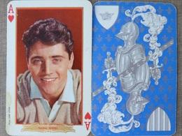 1 AS DE COEUR SACHA DISTEL Série ACTEURS ANNEES 60 PHOTO SAM LEVIN - Speelkaarten
