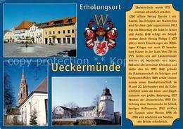 73209792 Ueckermuende_Mecklenburg_Vorpommern Markt Marienkirche Schloss  Ueckerm - Alemania